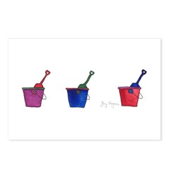 Buckets & Shovels Postcards (Package of 8)