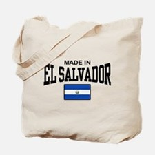 Made In El Salvador Tote Bag