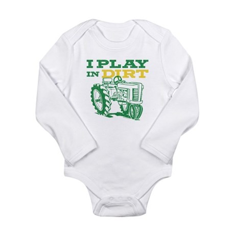 Play In Dirt Long Sleeve Infant Bodysuit