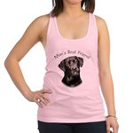 Mans Best Friend Racerback Tank Top