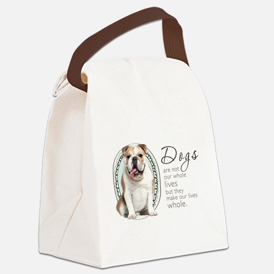 wholelives.png Canvas Lunch Bag