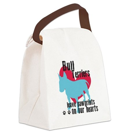 pawprints.png Canvas Lunch Bag