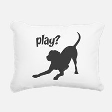 play.png Rectangular Canvas Pillow