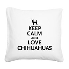keepcalm.png Square Canvas Pillow