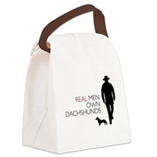 realmen.png Canvas Lunch Bag