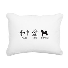 chinesepeace.png Rectangular Canvas Pillow