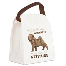 attitude.png Canvas Lunch Bag