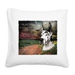 godmadedogs3.png Square Canvas Pillow