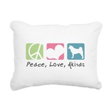 peacedogs.png Rectangular Canvas Pillow