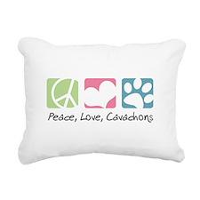 peacedogs.png Rectangular Canvas Pillow