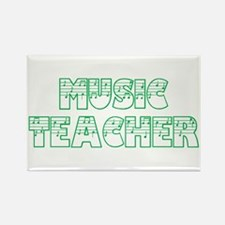 Music Teacer II Rectangle Magnet