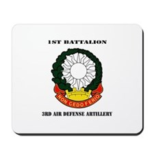 1st Battalion, 3rd Air Defense Artillery with Text