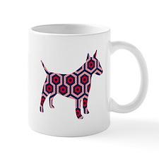 large bull terrier Mug