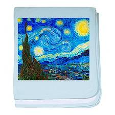 Van Gogh - Starry Night baby blanket