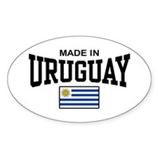 Made In Uruguay Decal