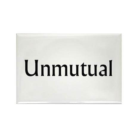 Unmutual Rectangle Magnet