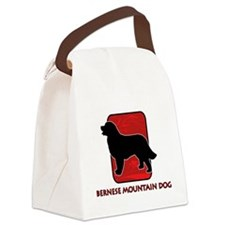 17-redsilhouette.png Canvas Lunch Bag