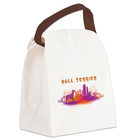 6-citydog.png Canvas Lunch Bag