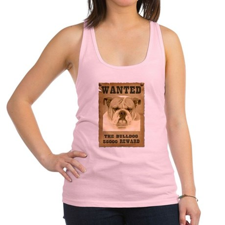 2-Wanted _V2.png Racerback Tank Top