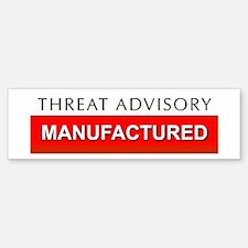 Threat advisory Bumper Bumper Bumper Sticker