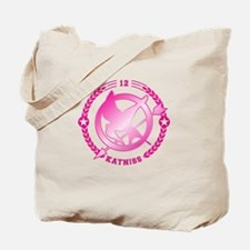 Pink Katniss Tote Bag