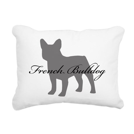 greysilhouette2.png Rectangular Canvas Pillow