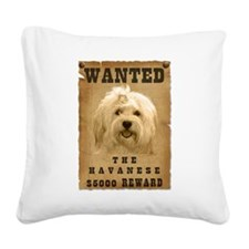 22-Wanted _V2.png Square Canvas Pillow