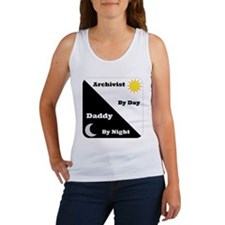 Archivist by day Daddy by night Women's Tank Top