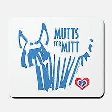 Mutts for Mitt Blue by VampireDog Mousepad