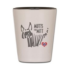 Mutts for Mitt Gray by VampireDog Shot Glass