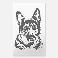 GERMAN SHEPHERD HEAD Decal