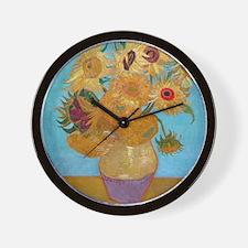 Van Gogh - Sunflowers Wall Clock