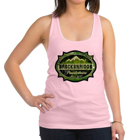 Breckenridge Powdertown Spring Racerback Tank Top