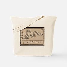 Tea Party - Join & Die Tote Bag