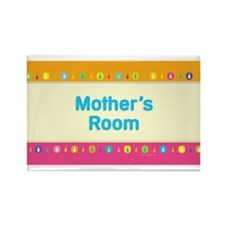 MM Mother's Room Rectangle Magnet