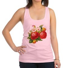 vic-strawberry.png Racerback Tank Top
