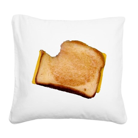 bl_grilledcheese.png Square Canvas Pillow