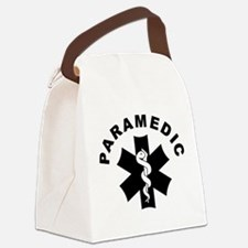 Paramedic Star Of Life Canvas Lunch Bag