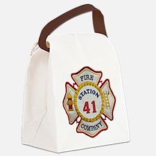 Funny Mercer university Canvas Lunch Bag