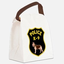K9 Police Officers Canvas Lunch Bag