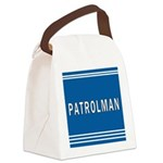 patrolman blues mousepad.jpg Canvas Lunch Bag