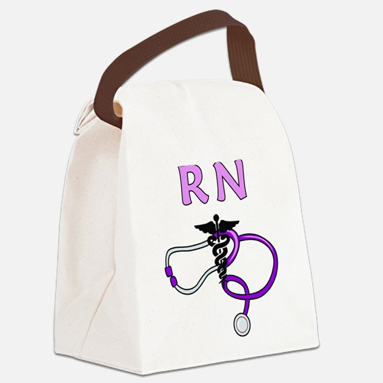 RN Nurse Medical Canvas Lunch Bag