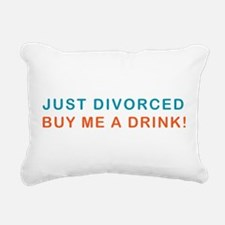 DIVORCE-DRINK.png Rectangular Canvas Pillow