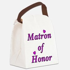 Matron of Honor Simply Love Canvas Lunch Bag