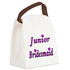 Junior Bridesmaid Simply Love Canvas Lunch Bag