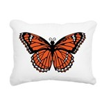 butterfly-orange.png Rectangular Canvas Pillow