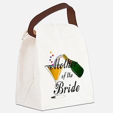 mother of bride black.png Canvas Lunch Bag