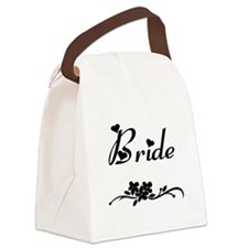 Classic Bride Canvas Lunch Bag