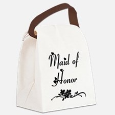 Classic Maid of Honor Canvas Lunch Bag