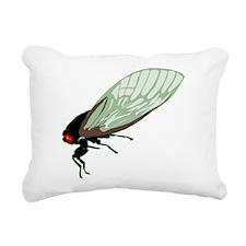 big-cicada.png Rectangular Canvas Pillow